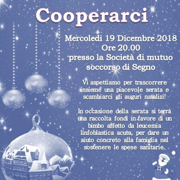 Cooperarci Savona - Cena Natale 2018