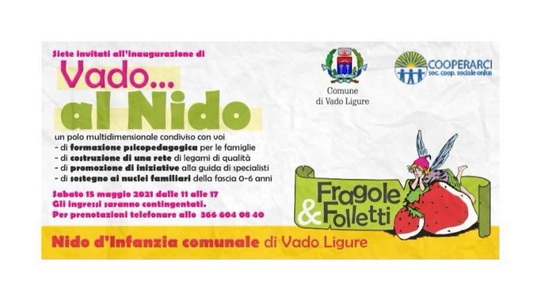 inaugurazione VADO...al Nido